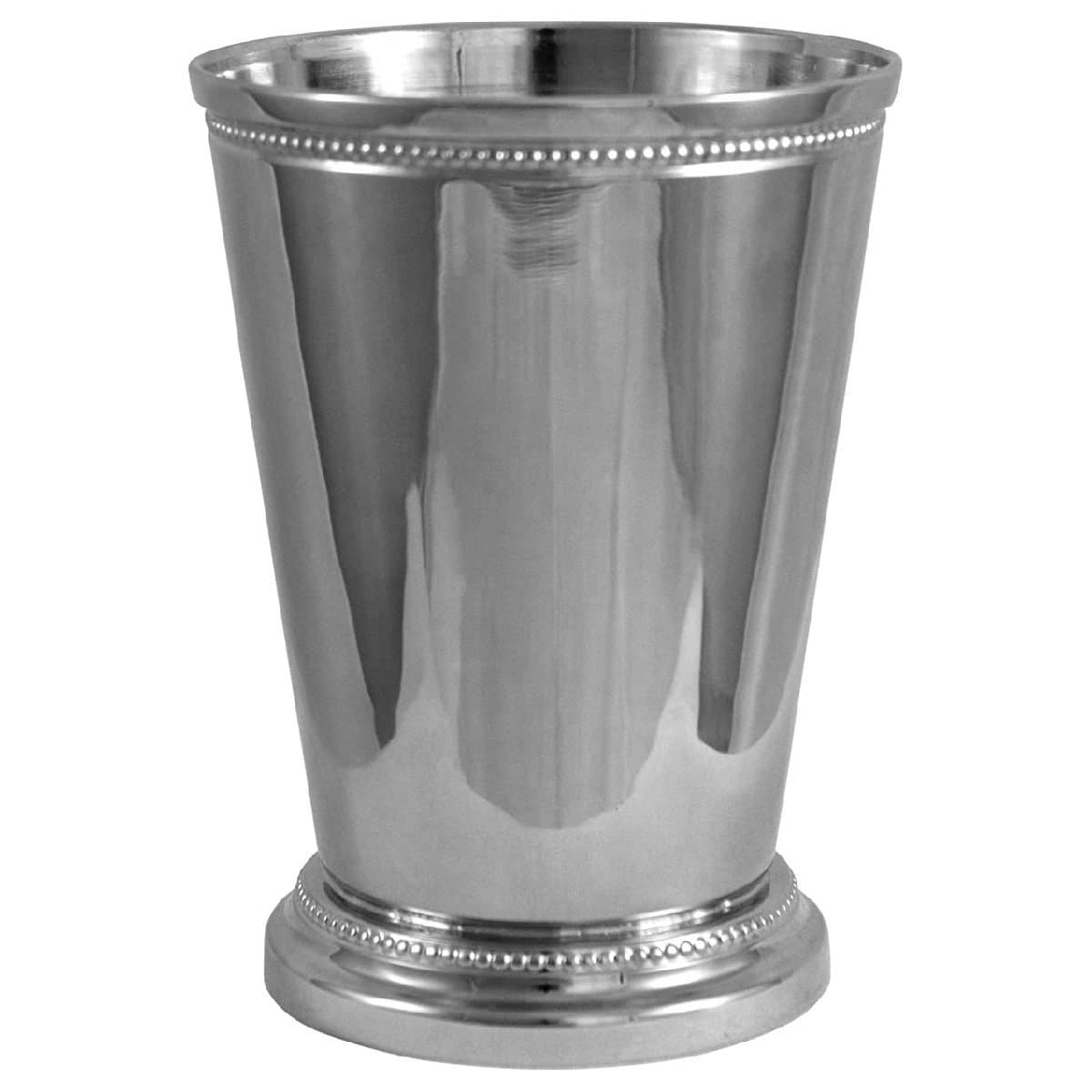 Brass Julep Cup Pen Holder, Large 12cm, Silver Plated