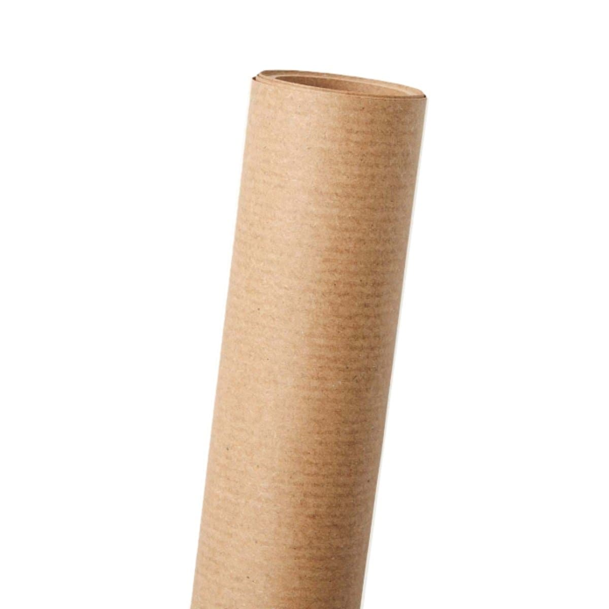 Paul Kraft Wrapping Paper, 70 x 200 cm, Brown