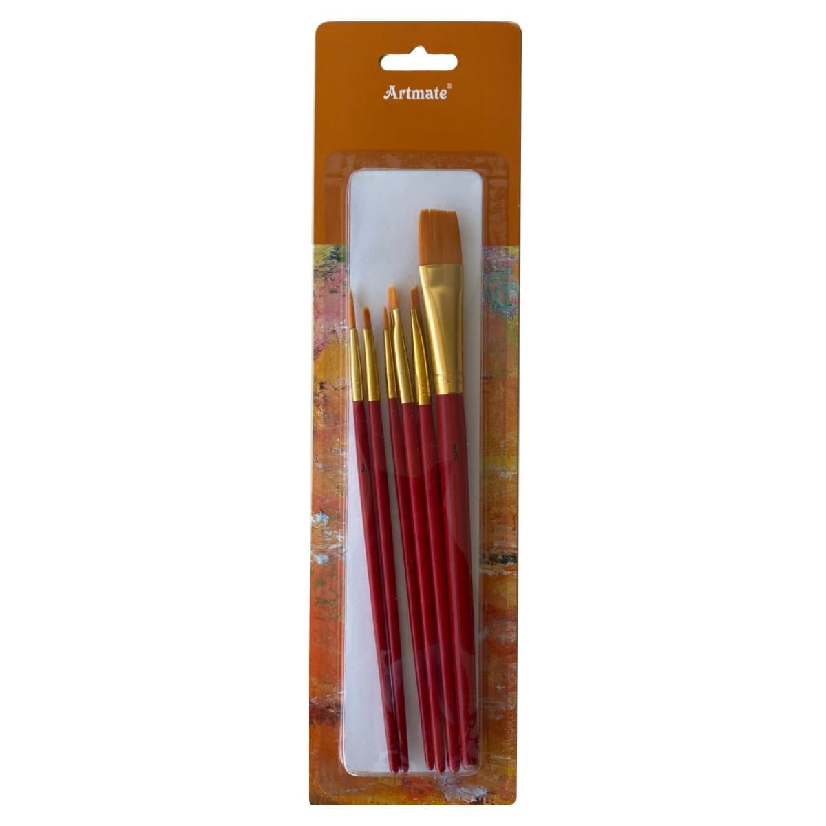 Artmate Paint Brushes, 7/set