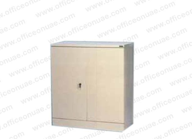 Rexel Filing Cupboard, 101.6x91.8x40 cm, Swing Door, Off-White
