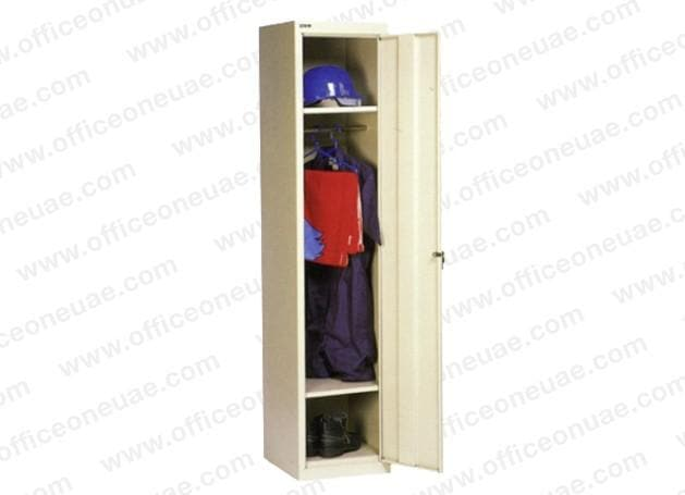 Rexel Locker, 180x37.5x46 cm, Single Door, Beige