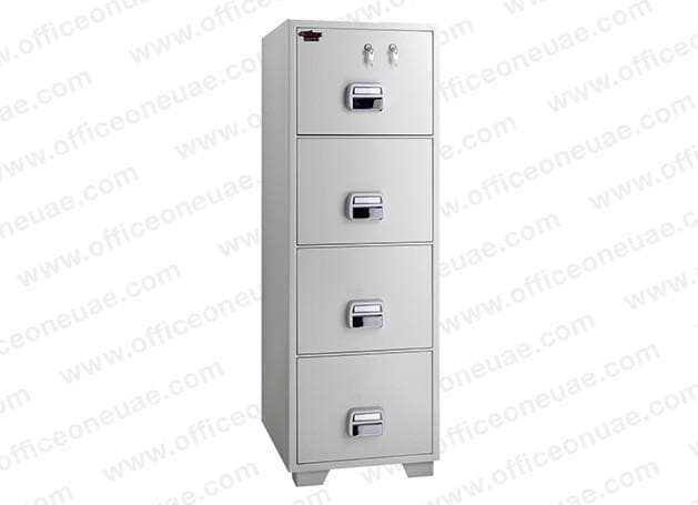 Eagle SF-680-4TKX Fire Resistant Filing Cabinet, 4 Drawer, 2 Key Lock