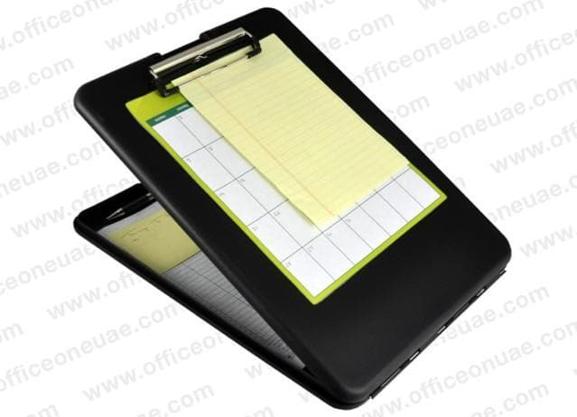 Saunders SlimMate, Storage Clipboard, Fits Forms A4, Black