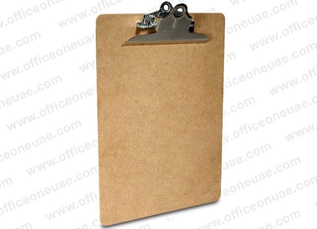 Saunders Hardfibre Clipboard with Heavy Duty Clip, A4