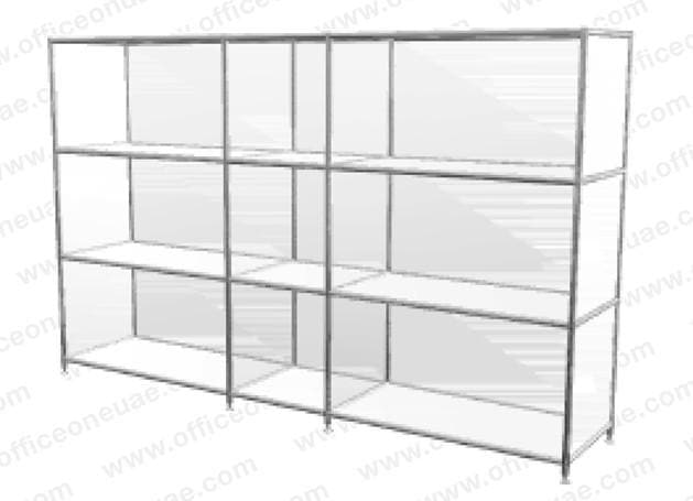 SYSTEM4 Shelf, 153 x 80 x 40 cm,  White