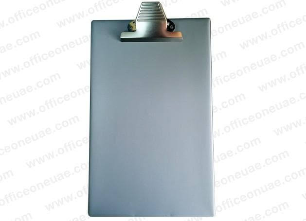 PVC Heavy Duty Clip Board with Jumbo Clip, Grey