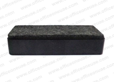 Deli Magnetic White Board Eraser 123 X 50 Mm Black Office