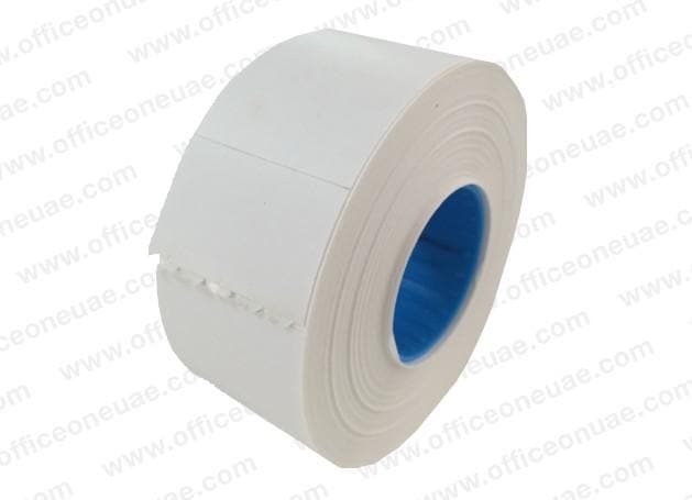 Blitz Price Label Roll, 26 x 16 mm, 1000/roll, White