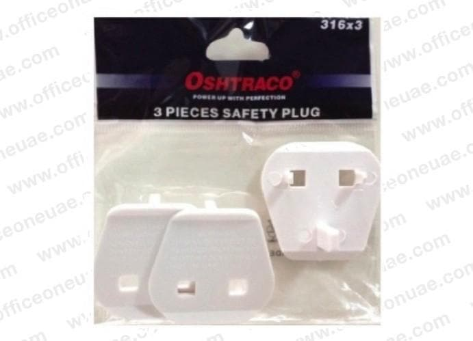 Oshtraco 316 Safety Plug 3/pack