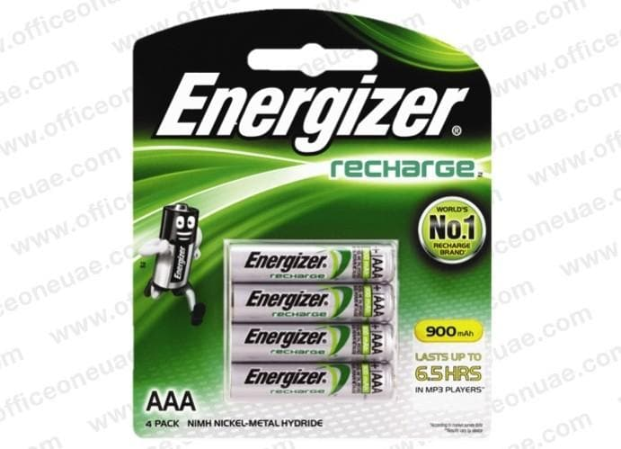 Energizer Rechargeable Battery AAA 4/pack