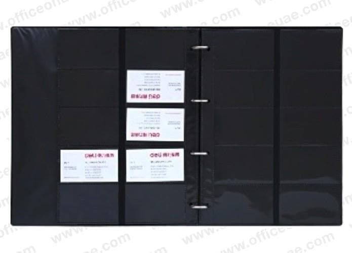 deli 5798 Name Card Holder, A4,  600 Cards Capacity