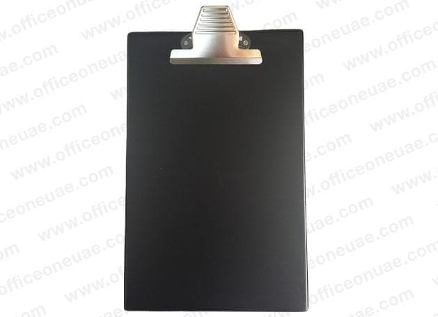 PVC Heavy Duty Clip Board A4 with Jumbo Clip, Black