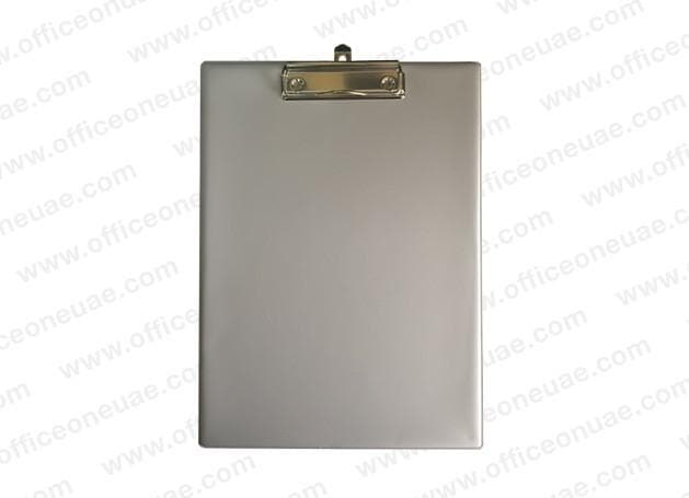 PVC Single Sided Clip Board A4, Grey