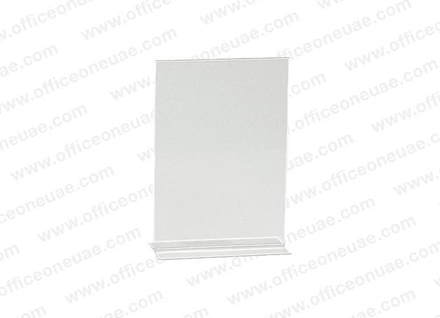 Acrylic Sign Holder 2 Sided T-Type, A5, 149 x 210 mm