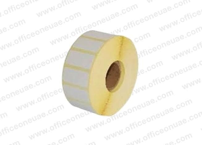 Barcode Sticker 38mm x 25mm, 1000 labels/roll