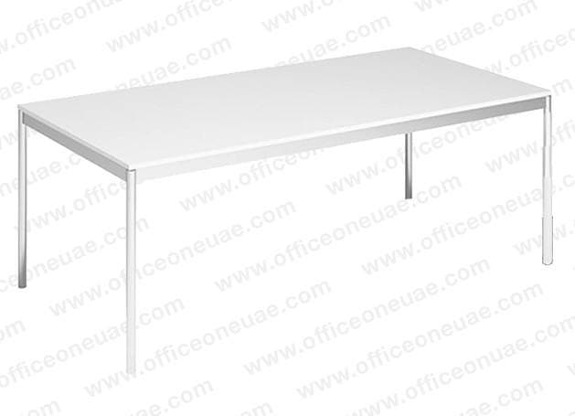 System4 Executive Desk / Conference Table 200 x 100 cm, White