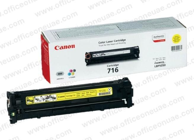 Canon 716 Yellow Toner Cartridge - 716Y