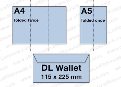 FIS Envelope Air Mail 115 x 225 mm, 70gsm, 50/pack