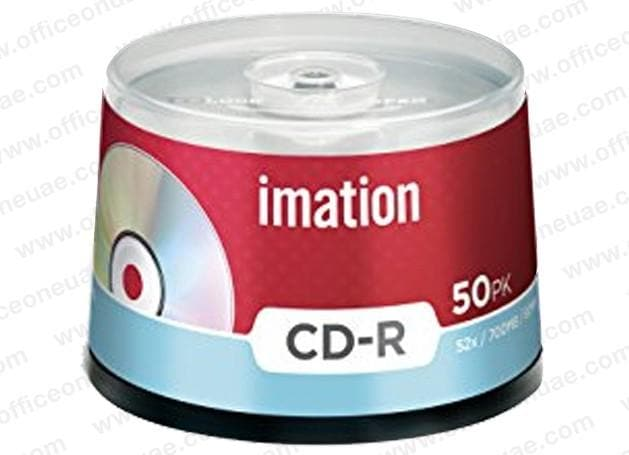 Imation CD-R, 52x / 700MB / 80Min, 50/spindle