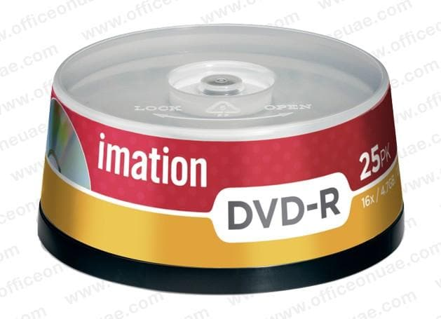 Imation DVD-R 120min, 4.7GB, 16x, 25/spindle