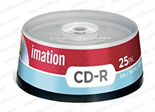 Imation CD-R, 52x / 700MB / 80Min, 25/spindle