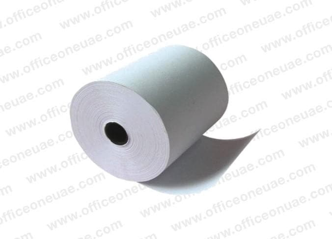 Thermal Cash Roll, 80 x 60 mm x 0.5 inch, White