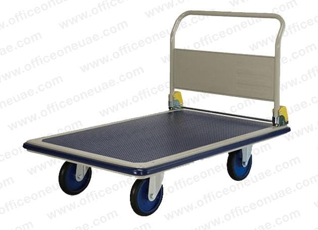 Prestar Heavy Duty Platform Trolley, Folding Handle, NG-401-6, 400 kg Capacity