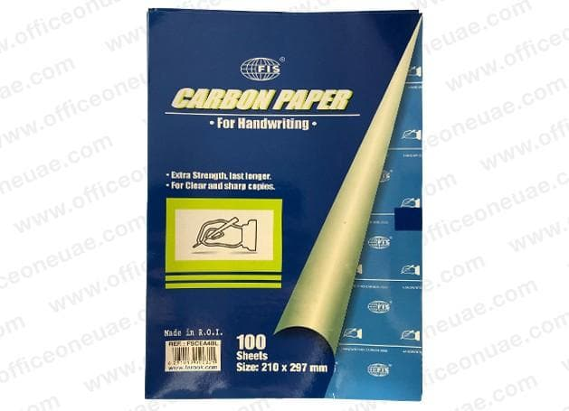 FIS Carbon Paper A4 for Handwriting, 100sheets/pack, Blue