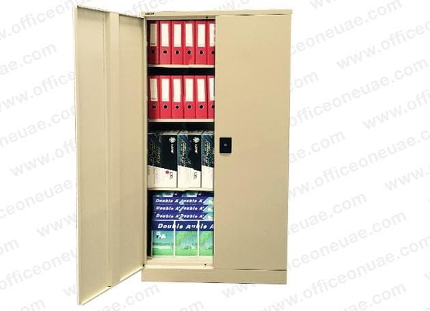 Rexel Filing Cupboard, 183x91.8x40 cm, Swing Door, Beige