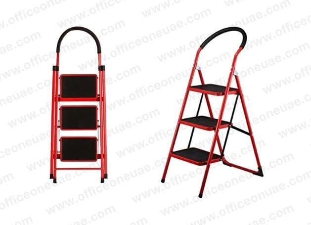 Household Steel Ladder, 3 steps, 68 cm