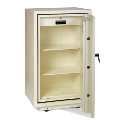 Valberg FRS-93 KL Fire Resistant Safe, 2 Key Locks, White