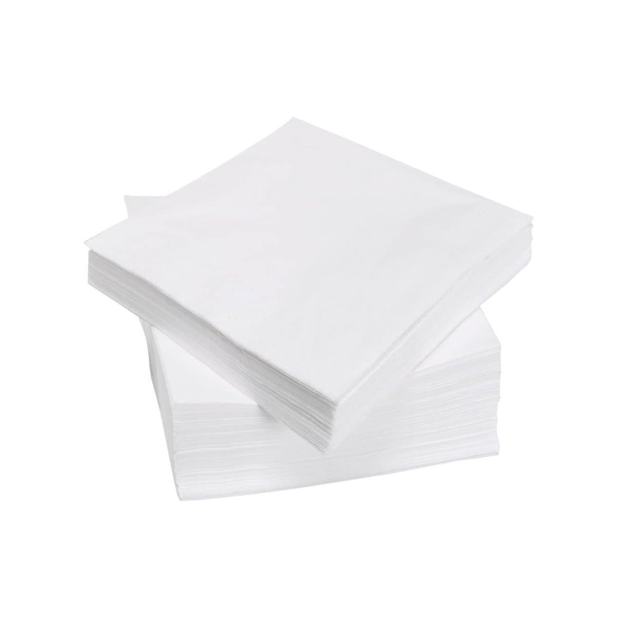 Table Napkins, 100/pack, White