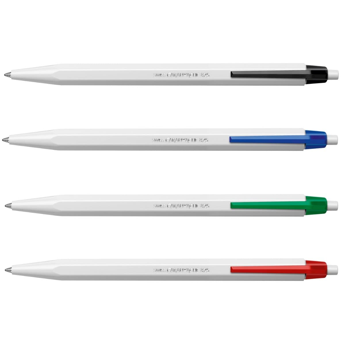 CARAN d'ACHE 825 Ballpoint Pen with Push-Button, 0.7mm, per piece