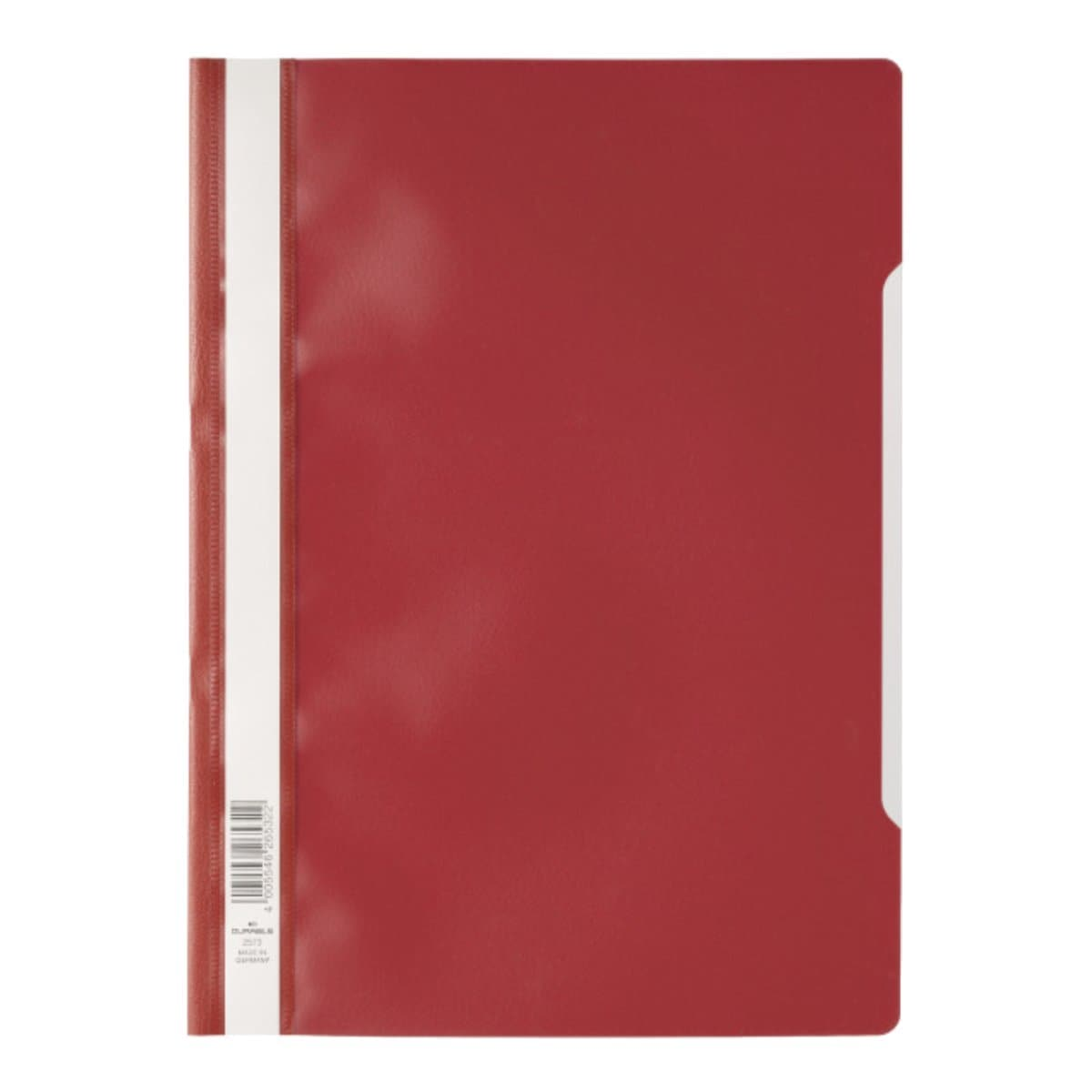 Durable Clear View Folder  - Economy A4, Red