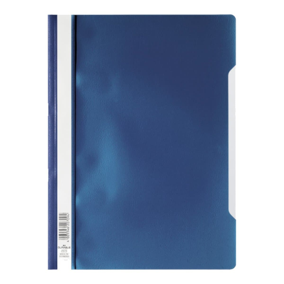 Durable Clear View Folder - Economy A4, Dark Blue