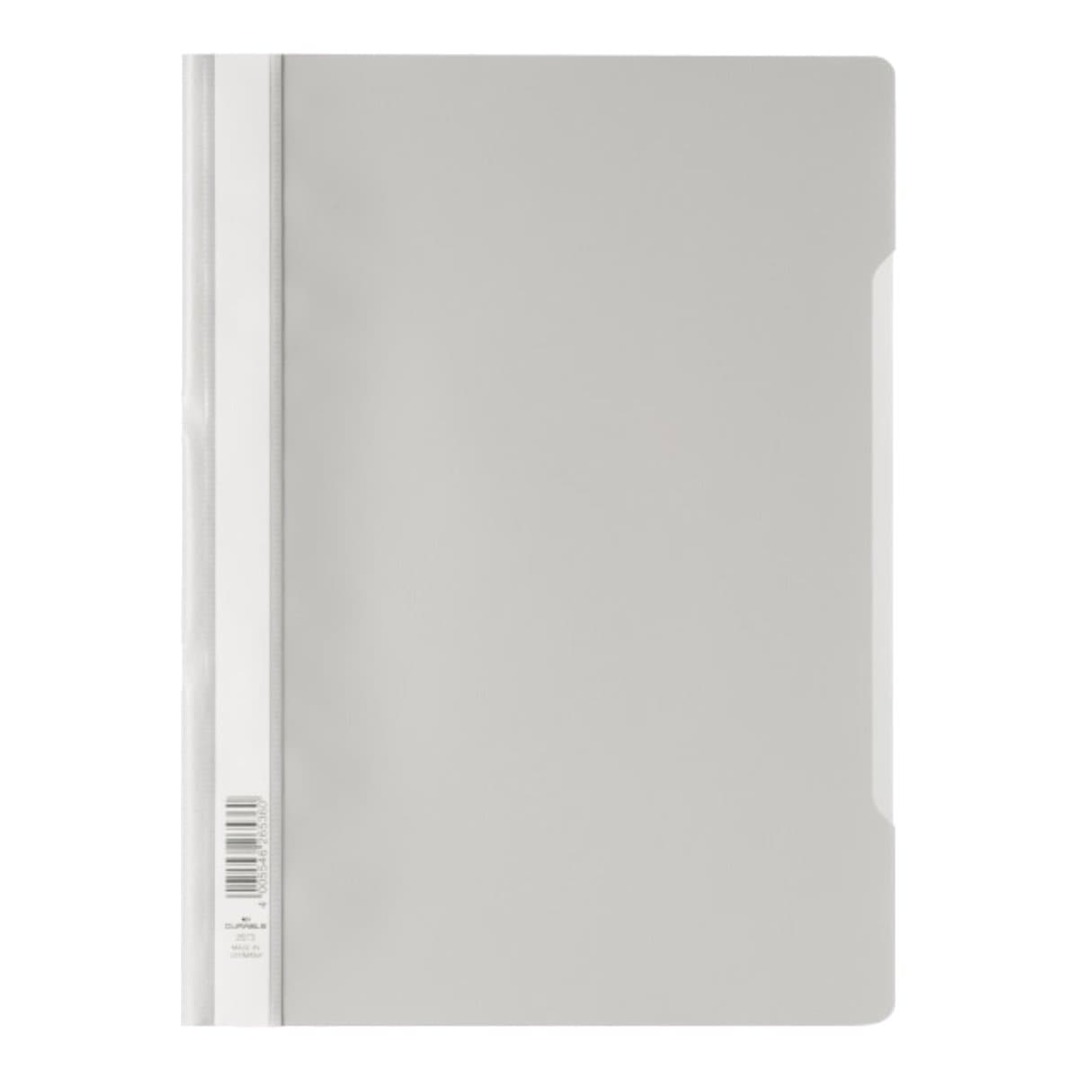 Durable Clear View Folder - Economy A4, Grey