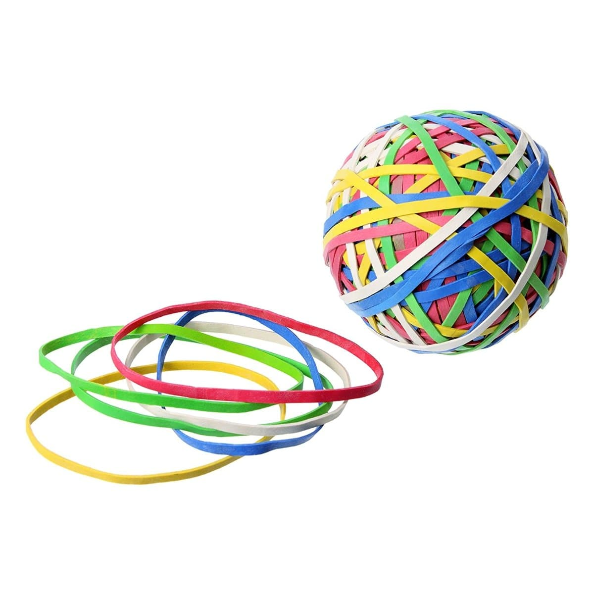 Laufer Rondella, Rubber Band Ball, Natural Rubber, 3mm, 200 Bands