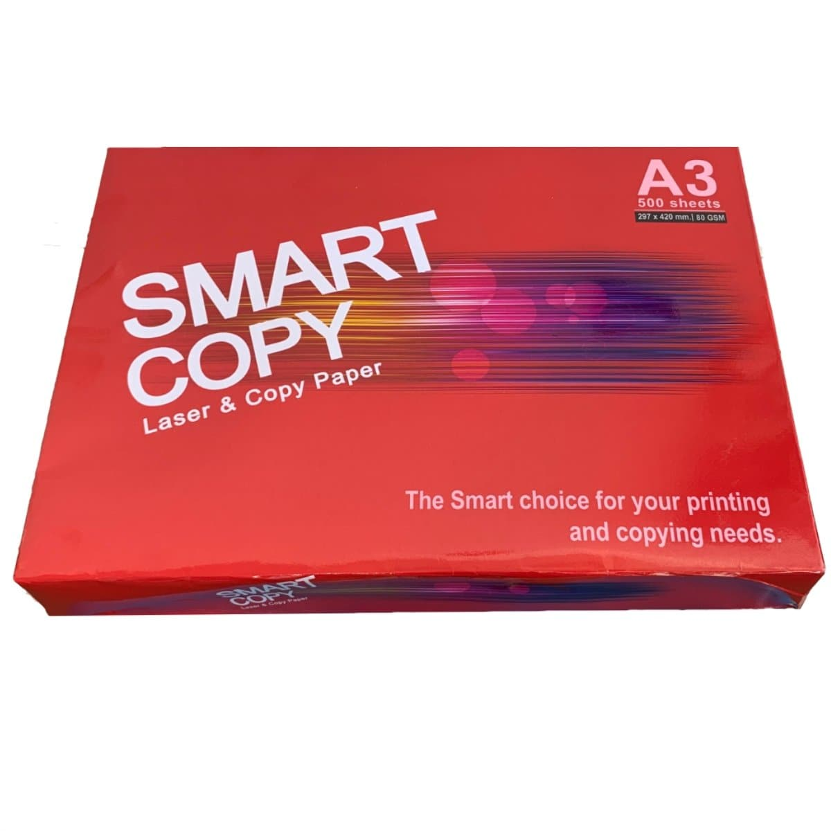 SMART COPY Paper A3, 80gsm, 500sheets/ream, White