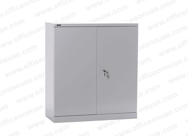 Rexel Filing Cupboard, 101.6x91.8x40 cm, Swing Door, Grey