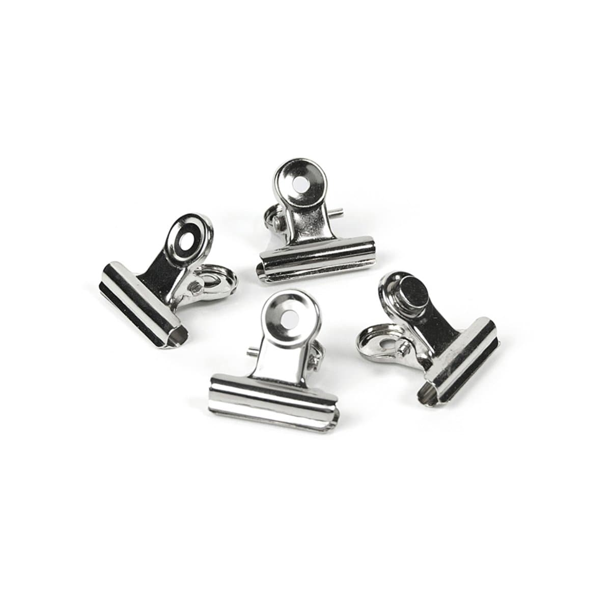 Trendform Magnetic Clip MINI-GRAFFA, 4/pack, Chrome Plated