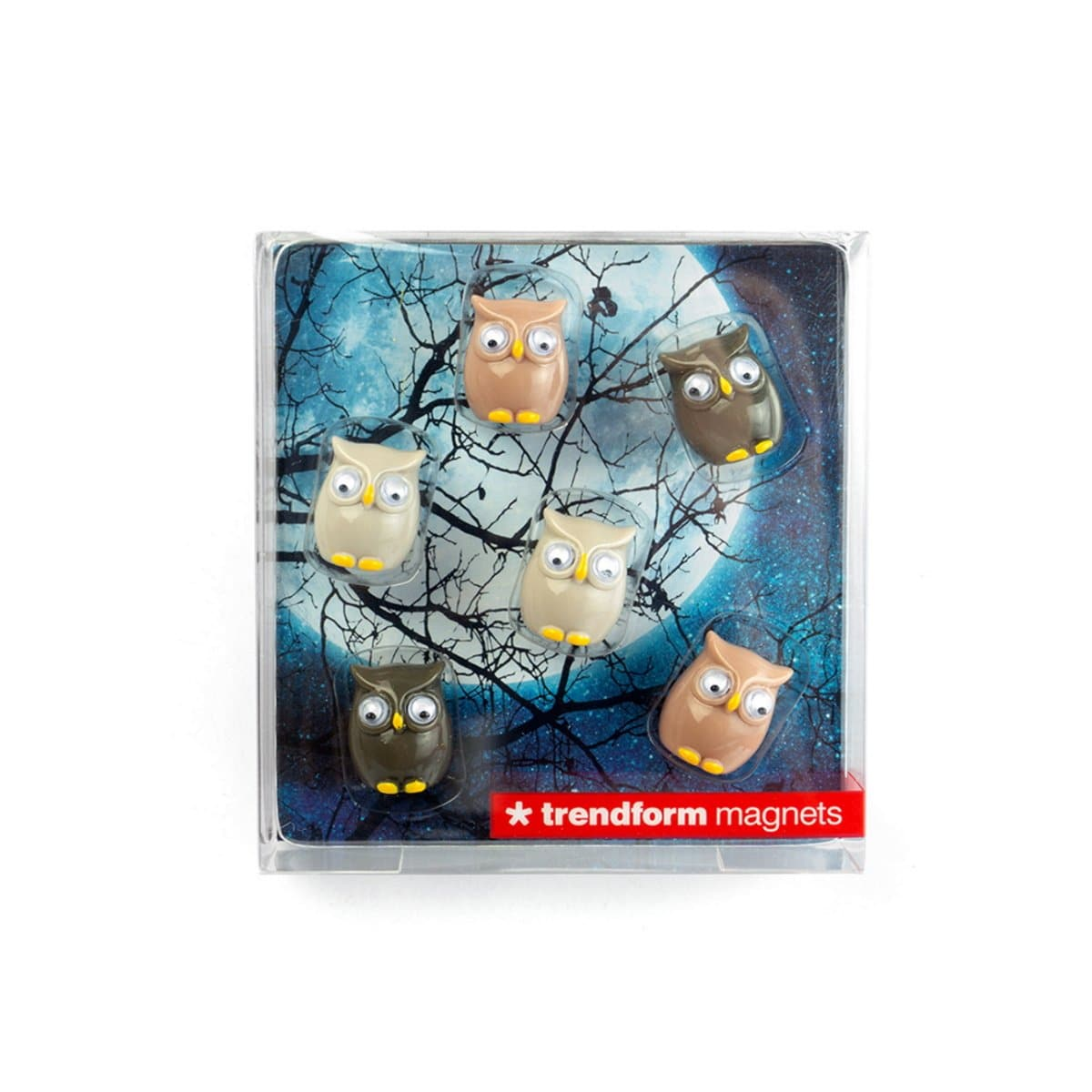 Trendform Magnets OWL, Set of 6