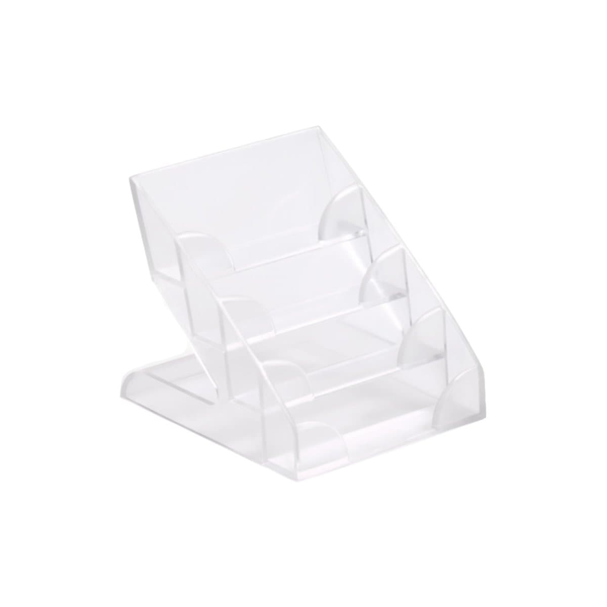 Durable Business Card Display Holder, 4 Tier