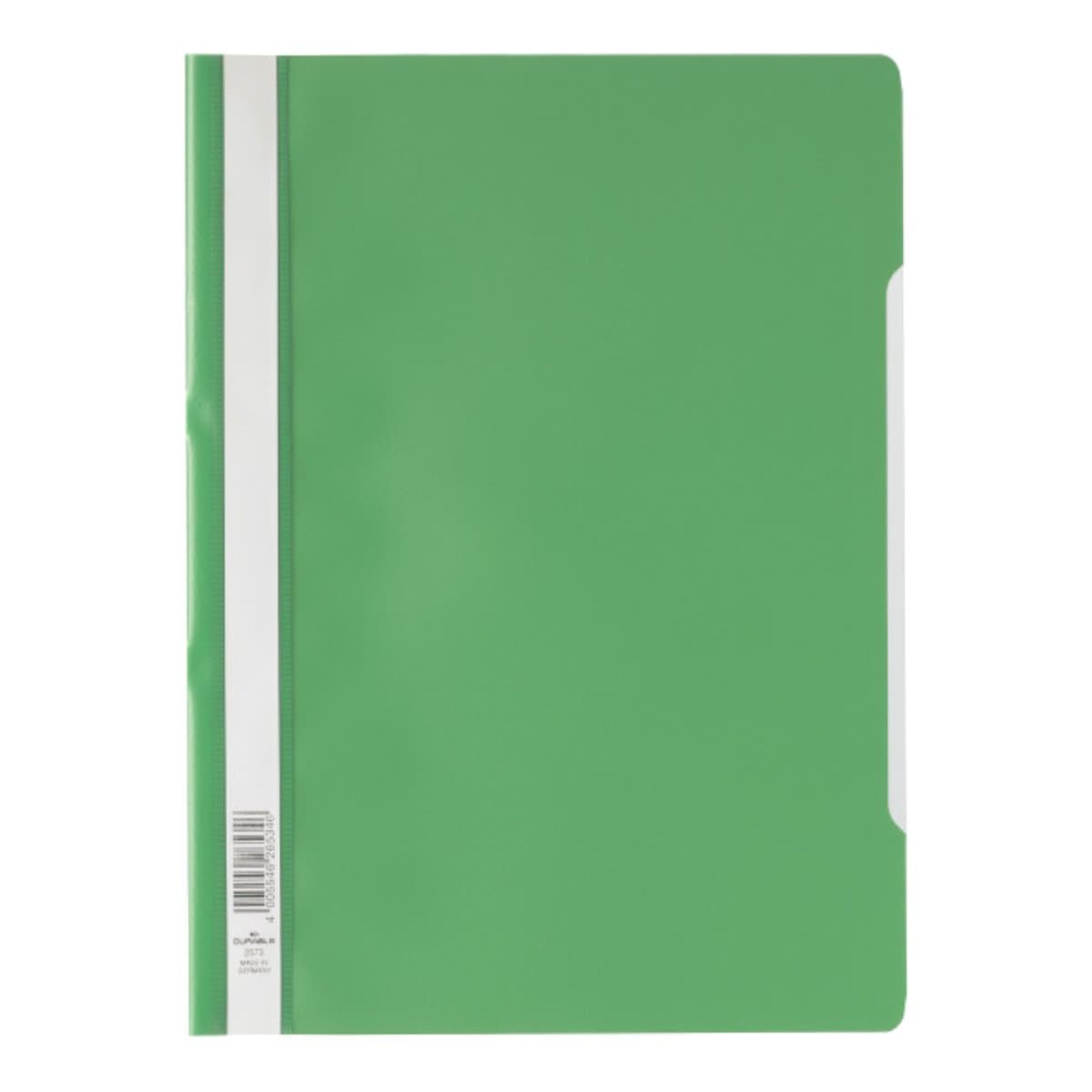 Durable Clear View Folder - Economy A4, Green