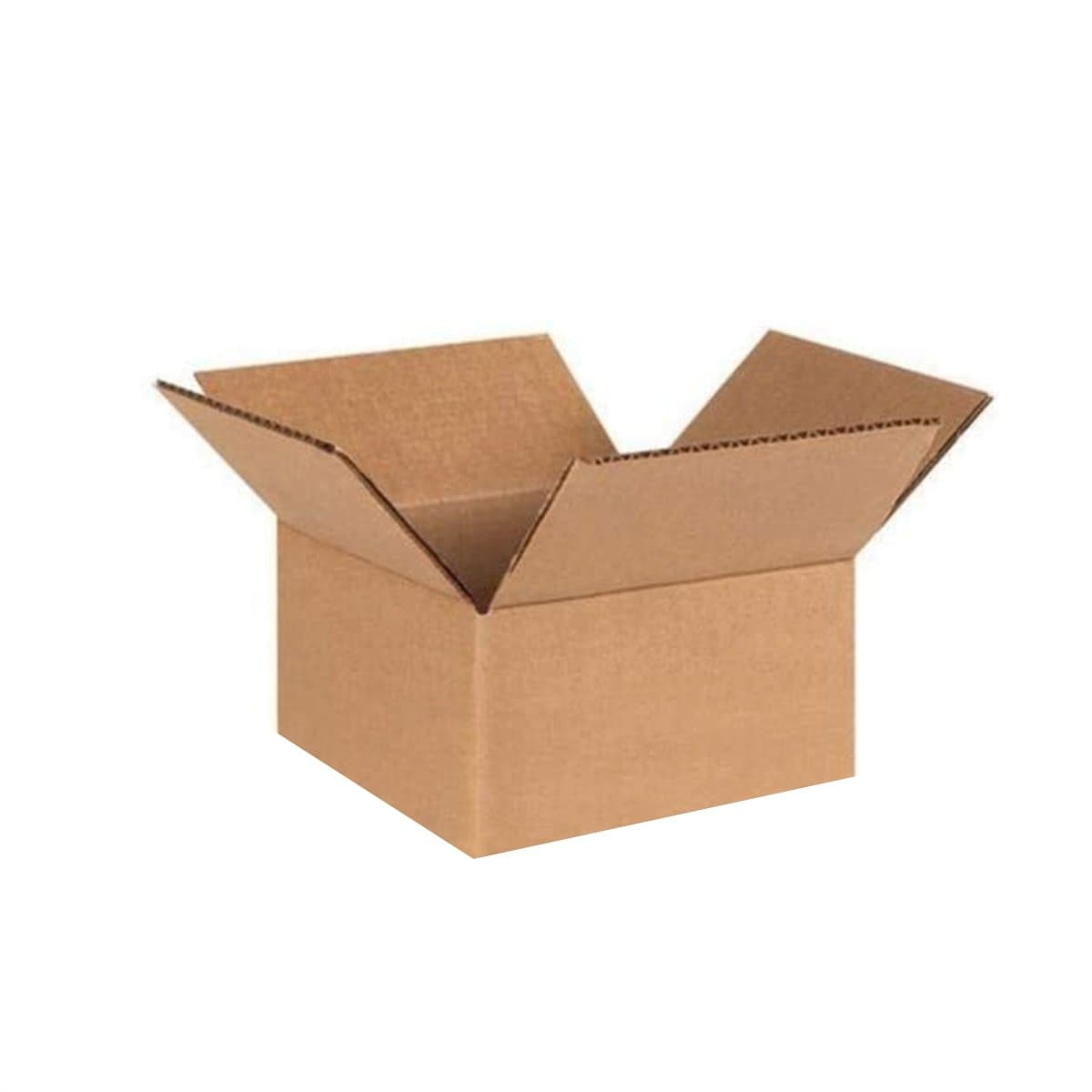 Corrugated Cardboard Storage Box, 45x45xH30cm