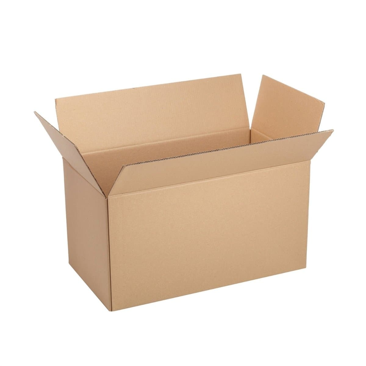Corrugated Cardboard Storage Box, 100x74xH74cm