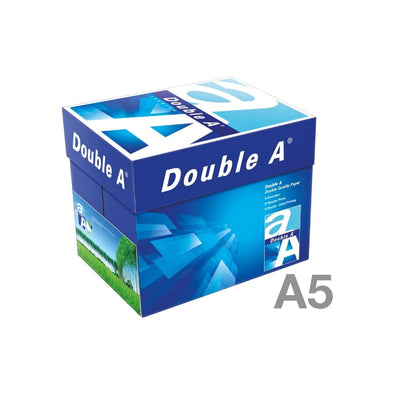 Double A Premium Paper A5, 80gsm, 500sheets/ream