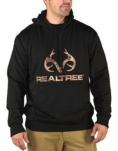 Men's Realtree Black Hoodie