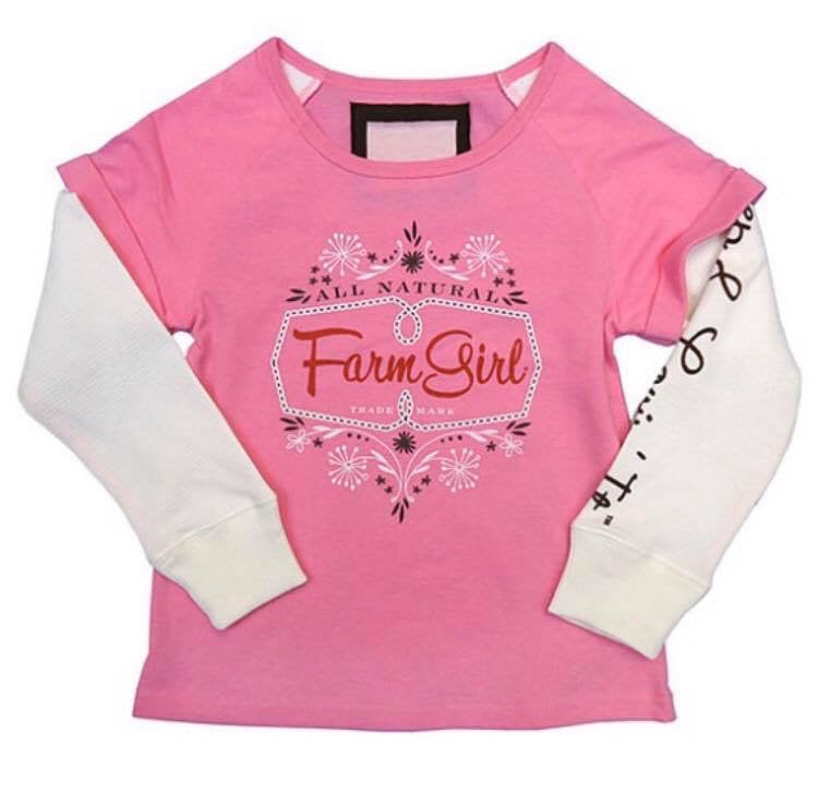 Farm Girl long Sleeve Shirt