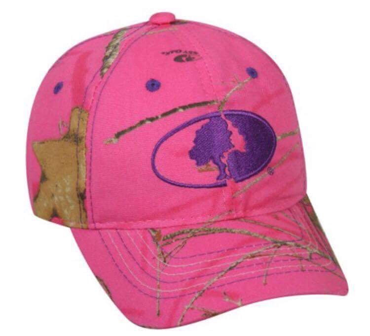 Ladies Cap - Mossy Oak Camo in Pink