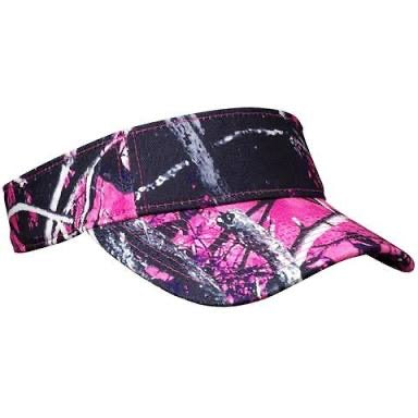 Ladies Visor - Muddy Girl